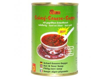 Čínská ostrokyselá polévka (mild) 400 ml