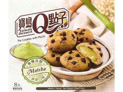 sušenky mochi matcha