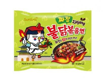 Instantní nudle Samyang hot chicken Jjajang 140 g