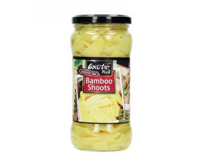 Exotic Food bambusové výhonky plátky 330 g