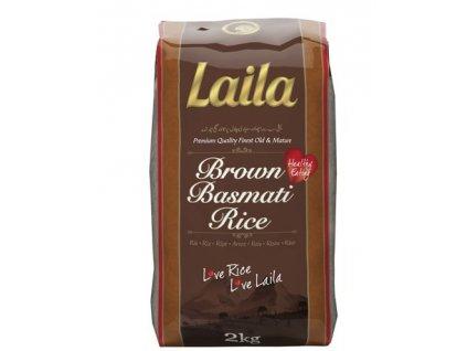 Laila hnědá basmati rýže 2 kg