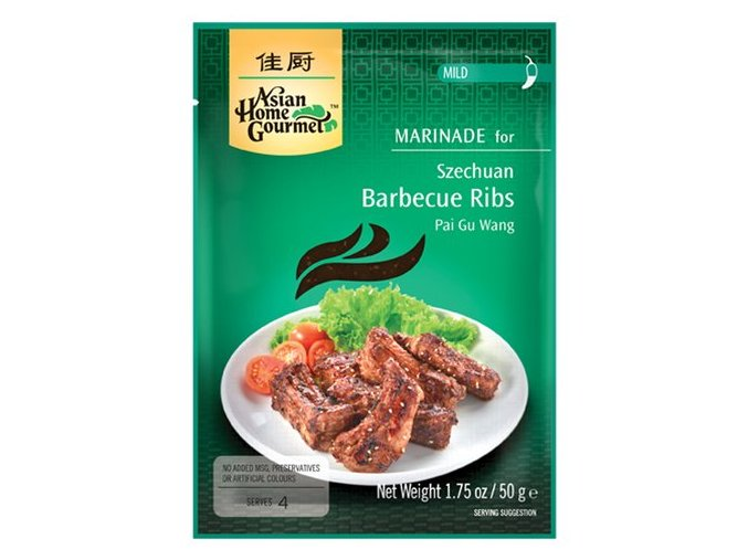 Sečuanská barbecue marináda na grilovaná žebra 50 g