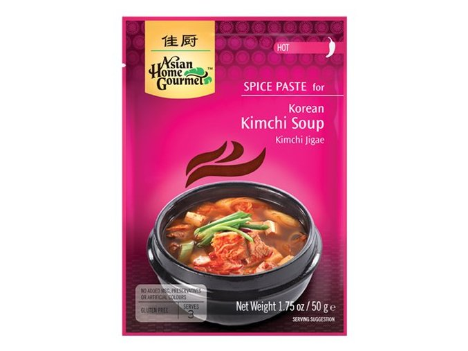 Korejská polévka Kimchi pasta 50 g
