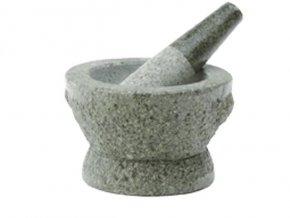 Hmoždíř žulový přírodní kámen 14 cm