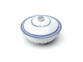 Mísa s pokličkou rýžový porcelán 24 cm