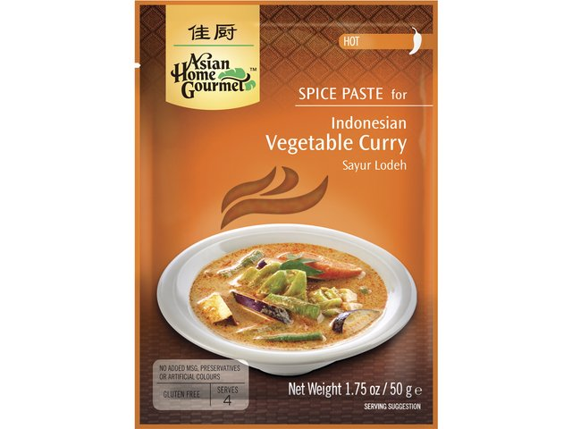 AsiaHomeGourmet Sayur Lodeh pasta na indonéské zeleninové kari 50 g