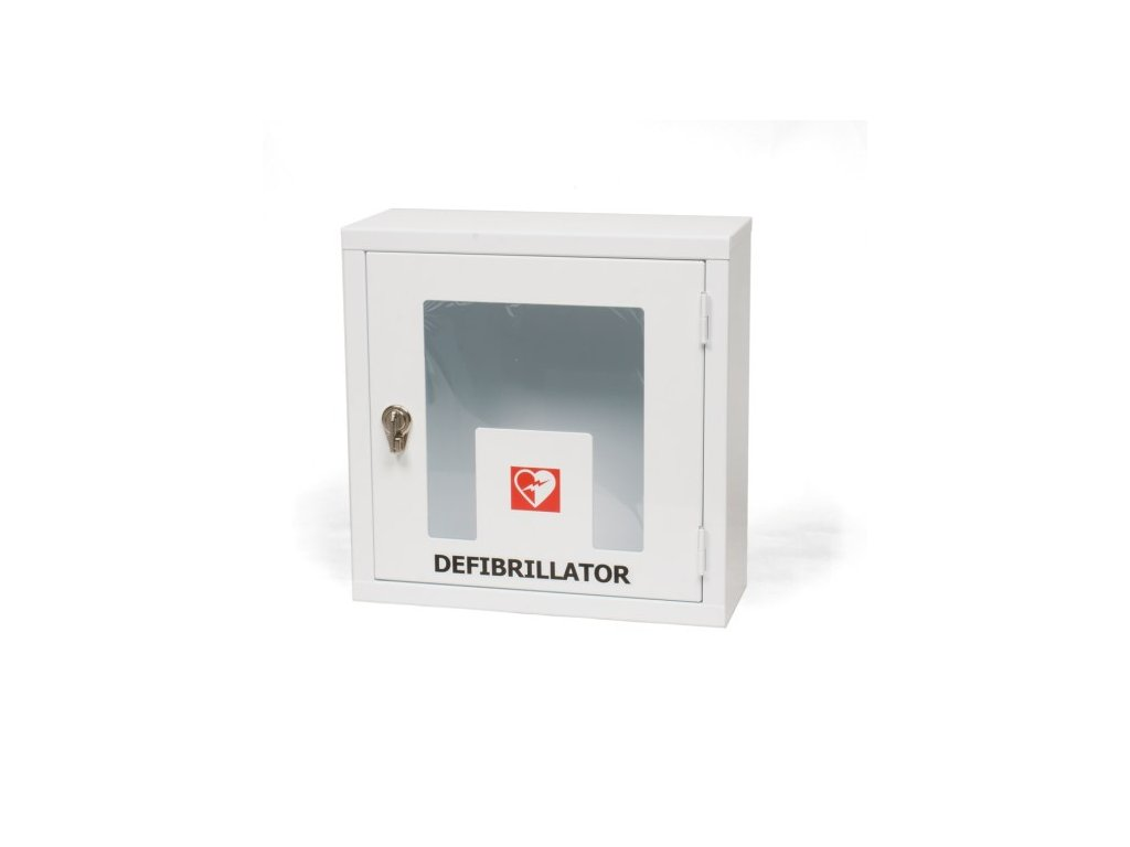 Skříňka pro AED defibrilátor