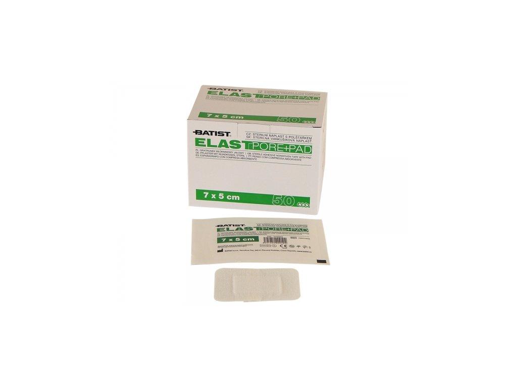 elastpore pad 7x5cm steril