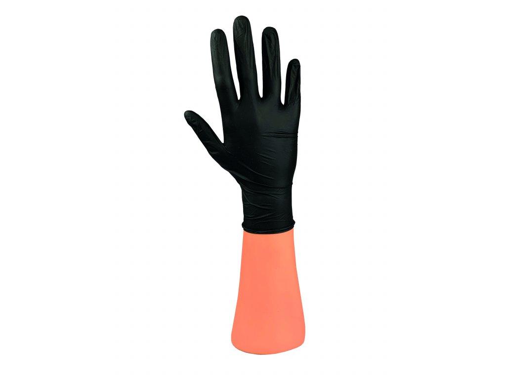 rukavice black RGB