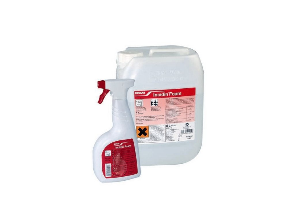 Incidin foam (varianta 750 ml)