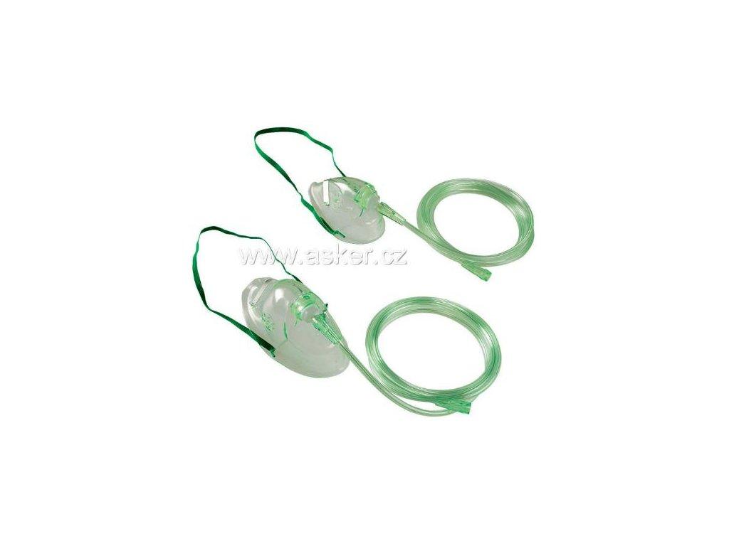Maska kyslíková (varianta pro děti)