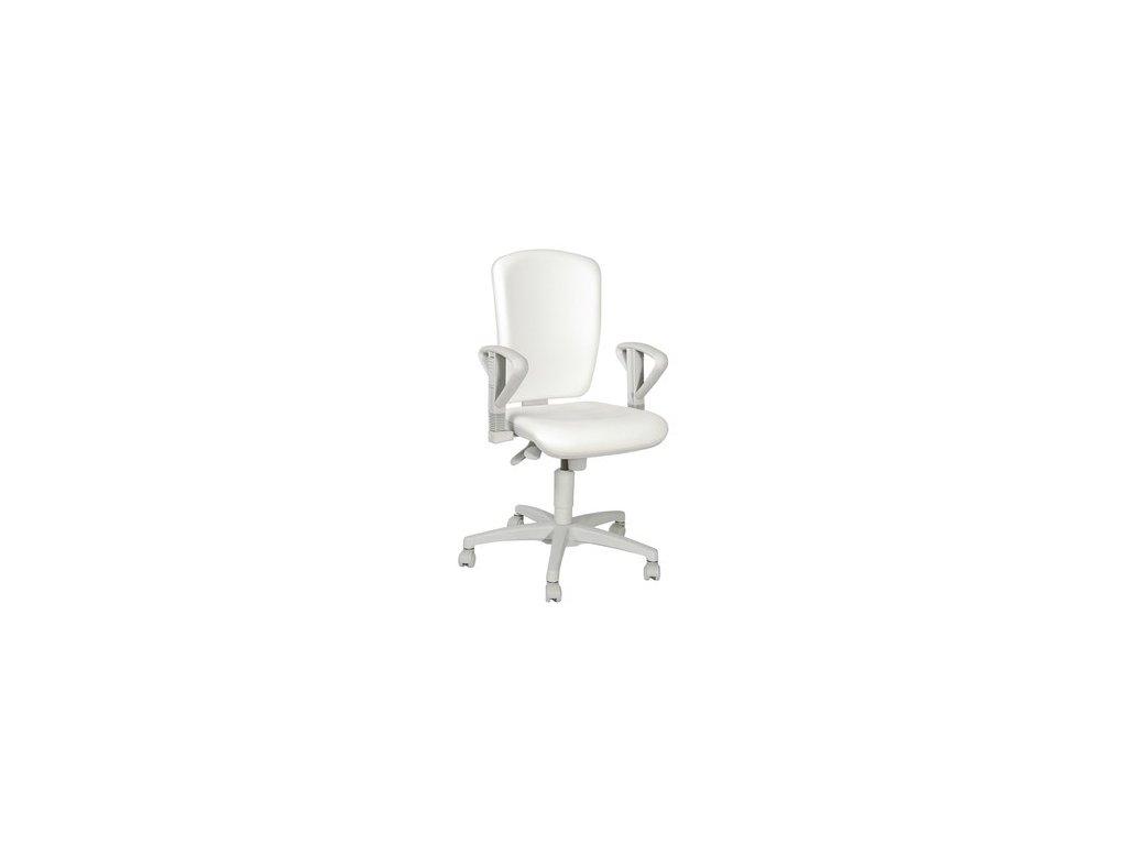 Židle otočná OPEN ENTRY MED LINE (varianta područky pro komfort - pár)
