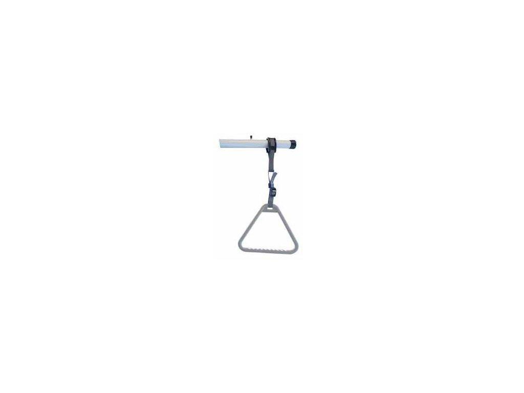 Hrazda a hrazdička (varianta hrazda - kovová tyč)
