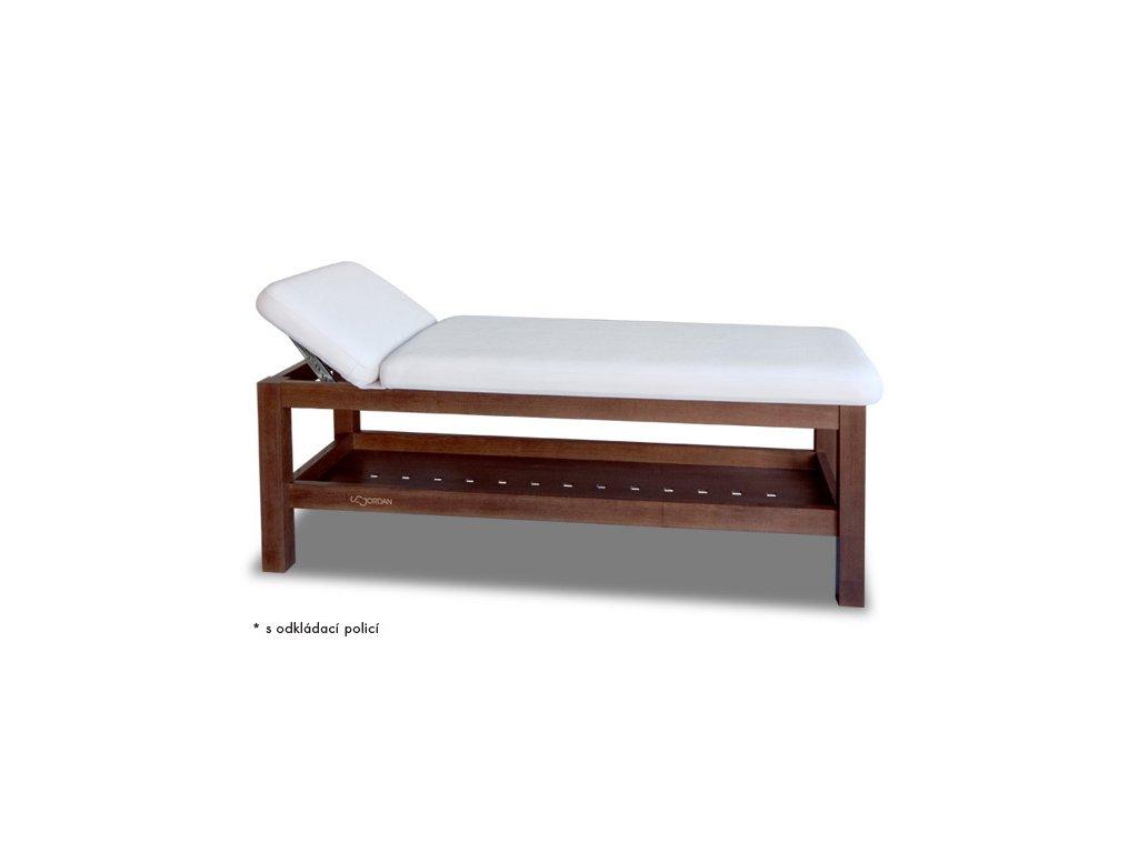 Lehátko s dřevěnou konstrukcí (varianta tmavé dřevo)