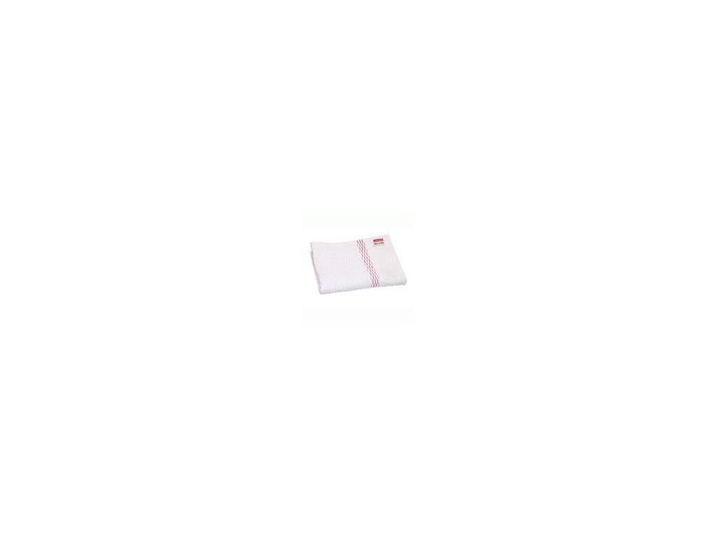 Hadr na podlahu bílý bavlna (3 ks)
