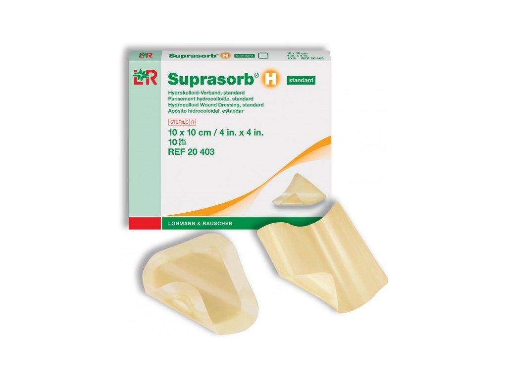 Suprasorb H (varianta Suprasorb H sacrum 14 x 16 cm / 5 ks)