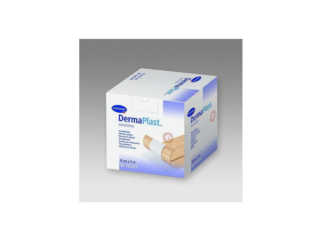 Náplast DermaPlast sensitive (varianta 8 cm x 5 m)