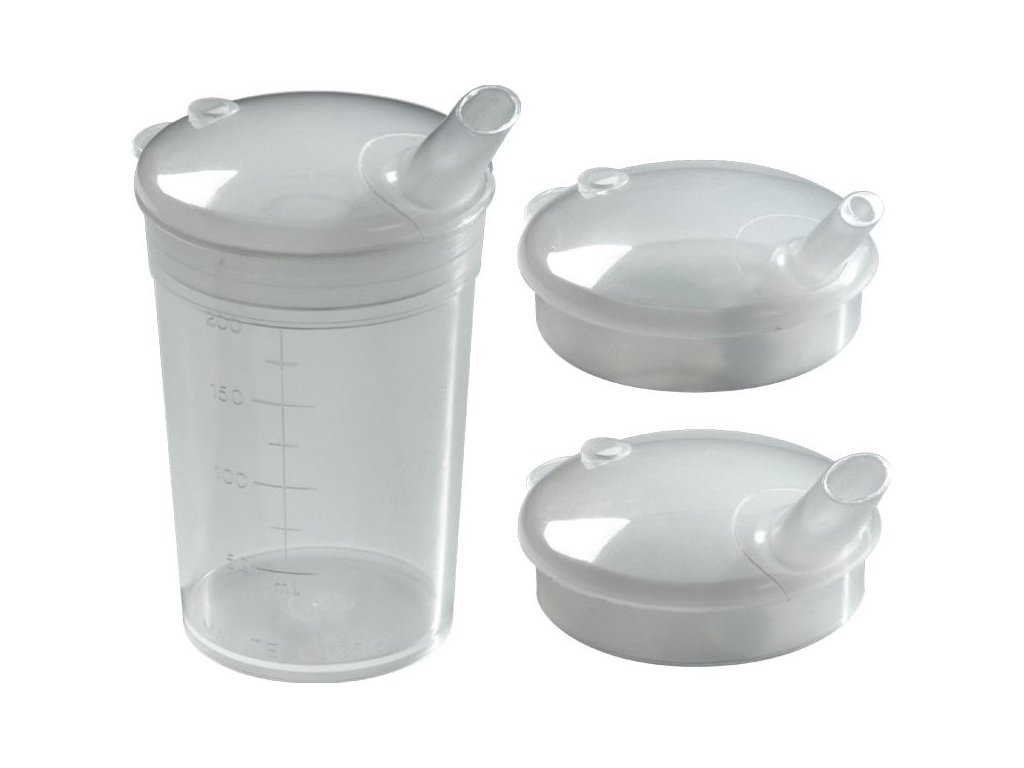 Kelímek na pití (varianta víčko s náústkem 12 x 10 mm, 50 ks)