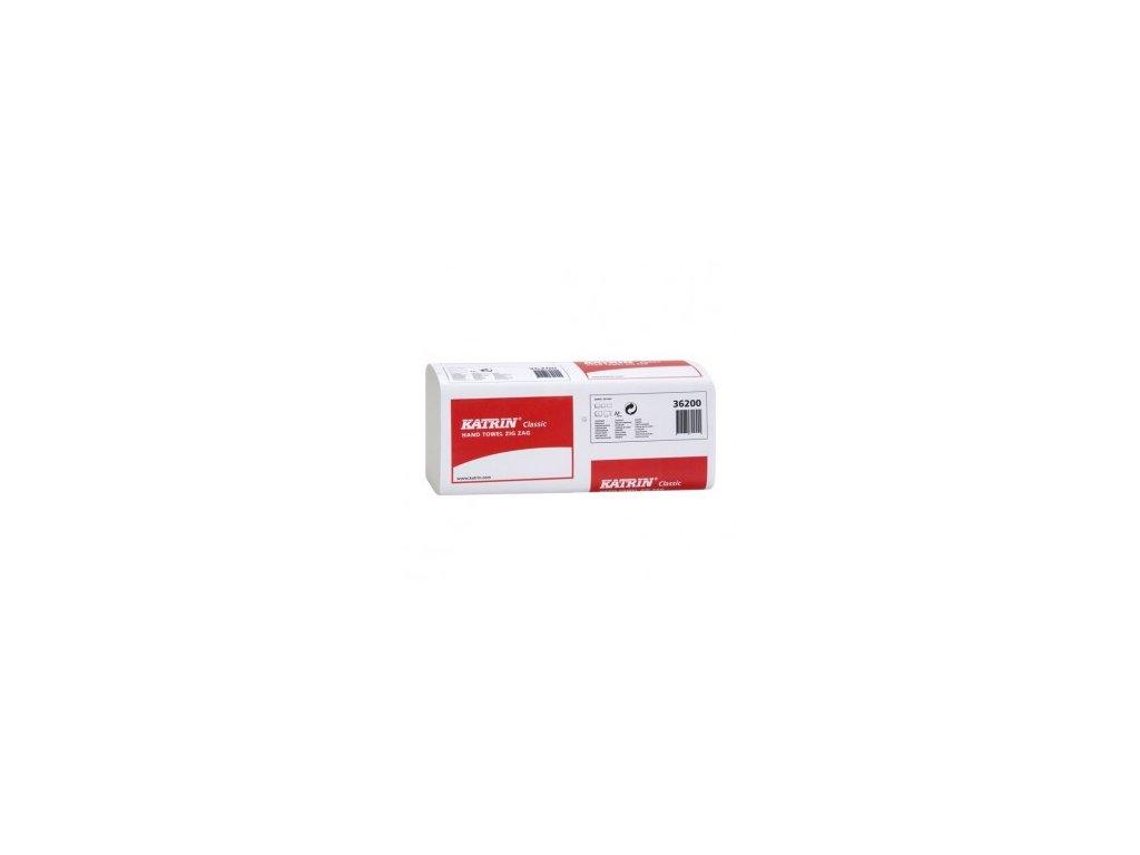 Ručník papírový KATRIN 2 vrstvy (varianta natural)