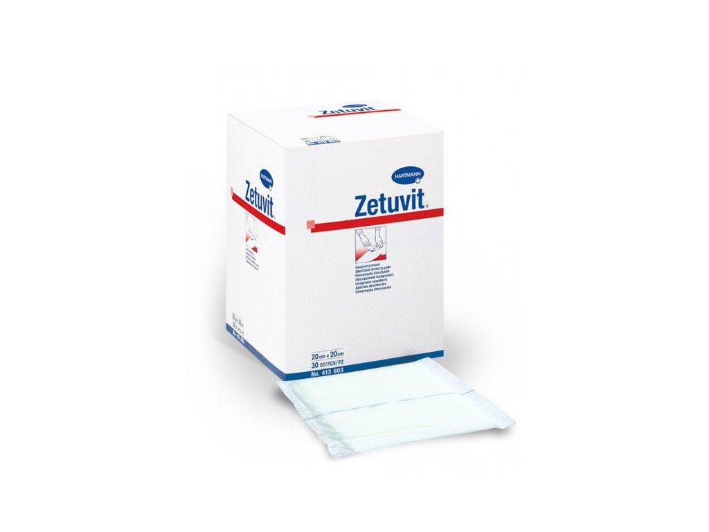 Zetuvit - savá komprese (varianta 20 x 20 cm)