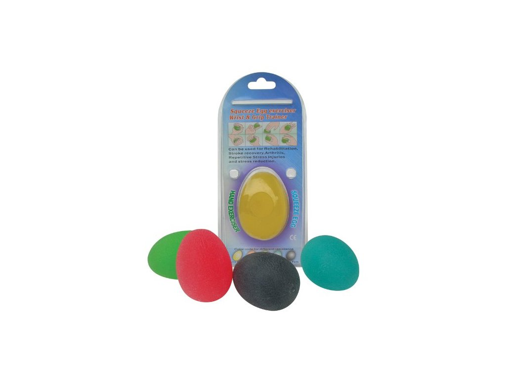 Posilovací gelové vajíčko (varianta barva modrá)