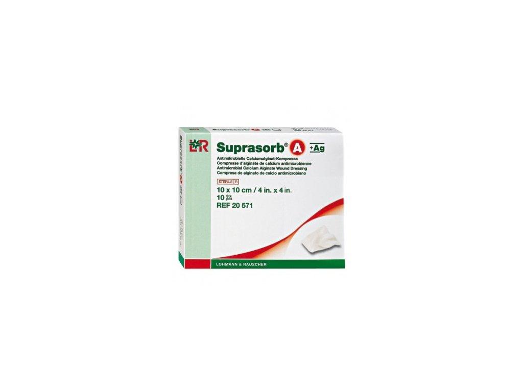 Suprasorb A+Ag (varianta tamponáda  30 cm, 2 g / 5 ks)