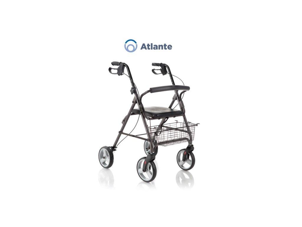 Chodítko čtyřkolové Rollator Atlante