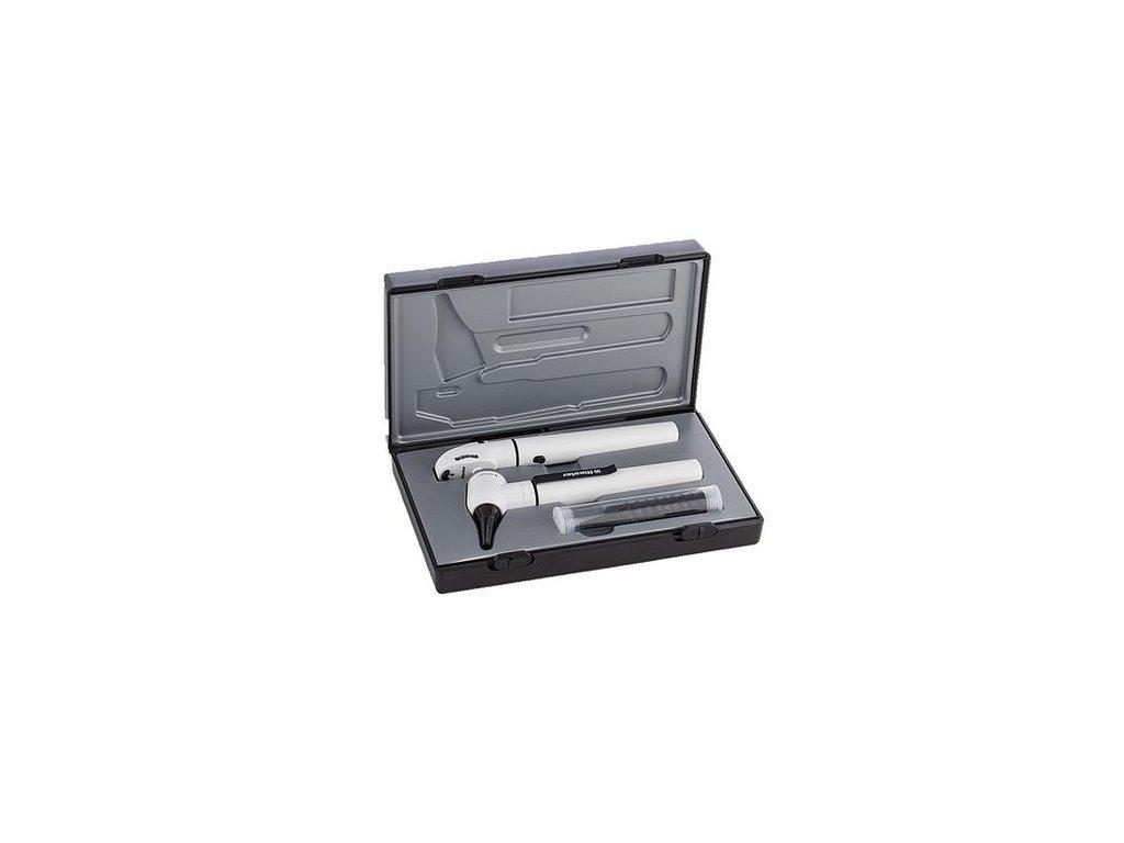 Diagnostický set e-scope Riester (varianta LED 3,7 V, černý v kazetě)