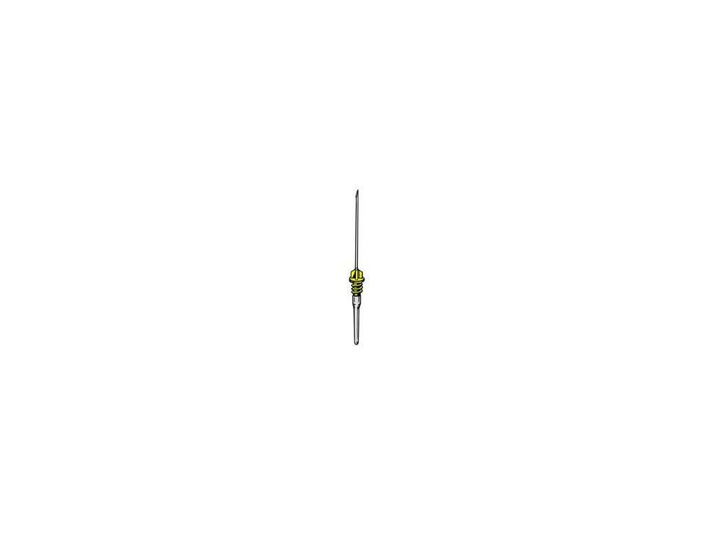 Jehla pro vakuový odběr BD VACUTAINER (varianta žlutá 0,9 x 38 mm, 100 ks)