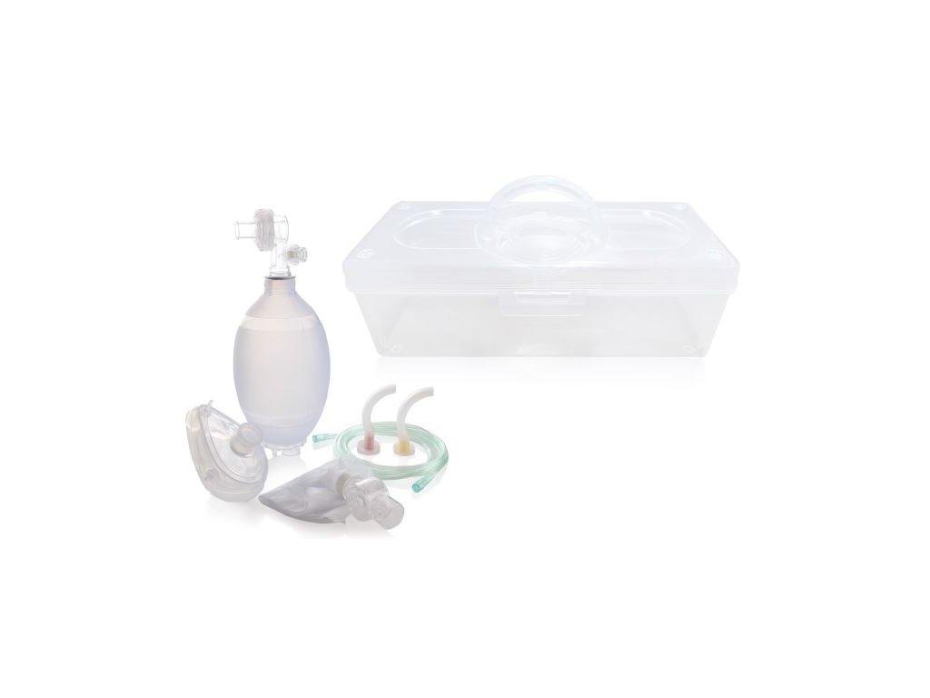 Vak resuscitační silikonový set