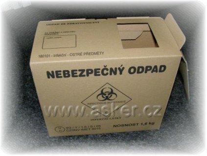 Krabice na kontaminovaný odpad
