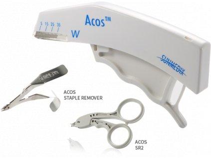Kožní stapler na kůži (varianta kleště na svorky sterilní)