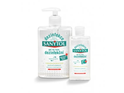 Dezinfekční gel Sanytol (varianta 250 ml)