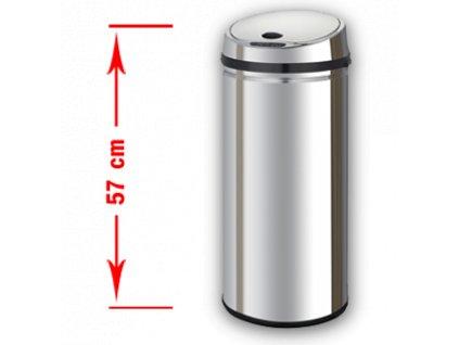 Bezdotykový odpadkový koš MARGO (varianta MARGO 42 l)