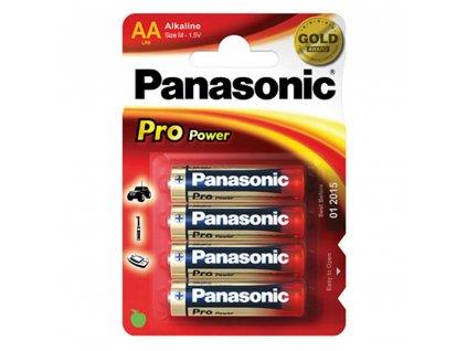 Baterie Panasonic 1,5 V AA, 4 ks