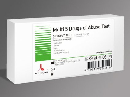 Drogový test (varianta Multi 10 Drugs)