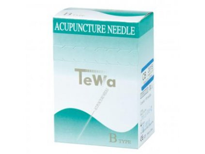 Akupunkturní jehla TeWa (varianta CB 0,25 x 40 mm)