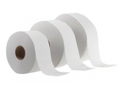 Papír toaletní Jumbo 2-vrstvý (varianta 19 cm nebělený)