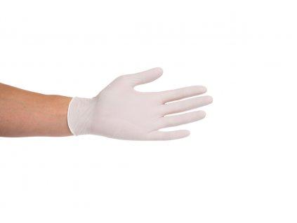 Rukavice nitrilové bílé Dona (varianta velikost XL / 90 ks)