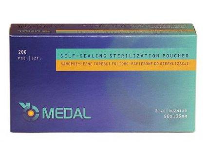 Sáček pro parní sterilizaci (varianta 90 x 260 mm, 200 ks)
