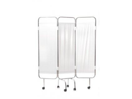 Zástěna 3 dílná s PVC výplní (varianta Náhradní PVC)