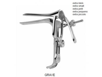 Gynekologické zrcadlo GRAVE