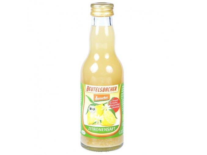 Citronová šťáva Bio 100% 0,2l