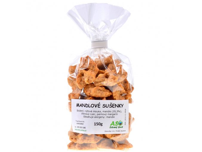 Mandlové sušenky 150g
