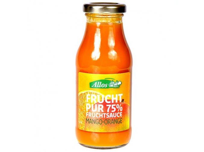 Ovocné pyré mango-pomeranč BIO 250 ml