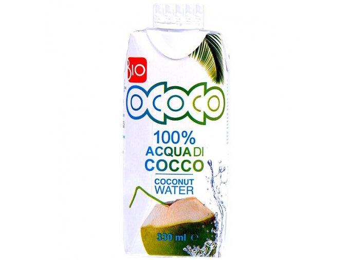 100% Kokosová voda BIO 330ml