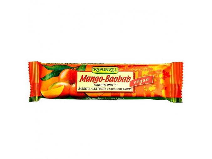 Tyčinka Mango-Baobab Rapunzel BIO 40g