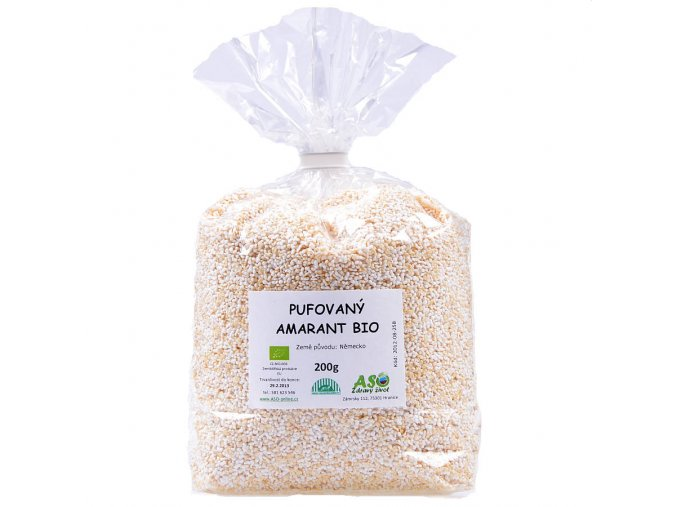 Amarantové perličky Bio 200g