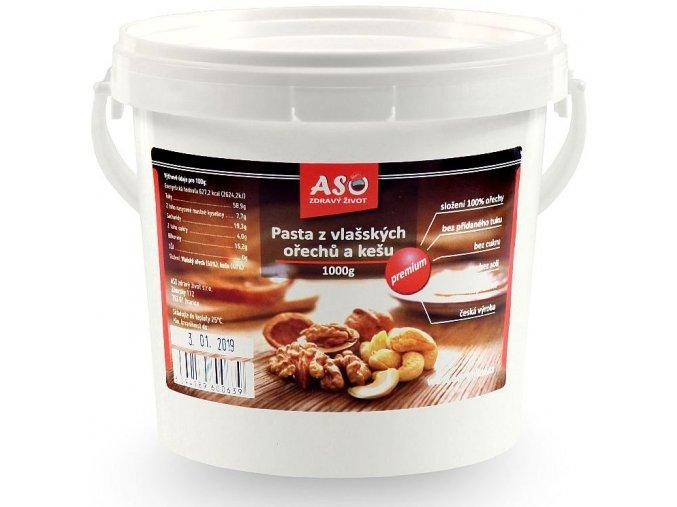 Pasta z vlasškých ořechů a kešu 1kg
