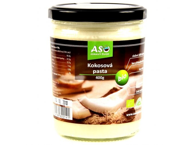 Kokosová pasta BIO 400g